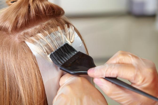<p>Using the right products andavoiding heat styling.</p>