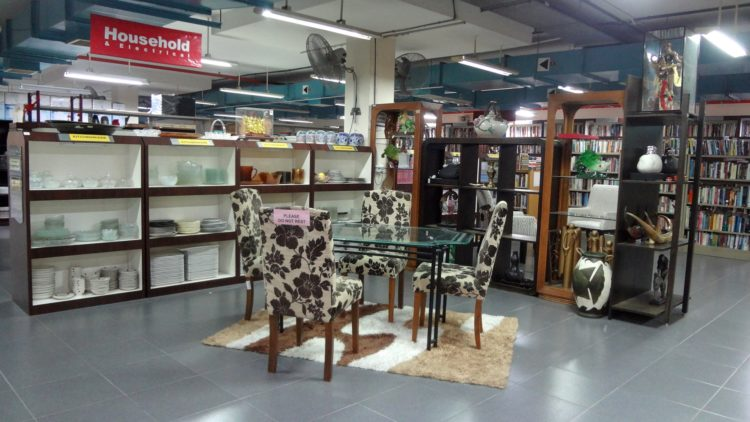 Praisehaven Salvation Army Thrift Shop is in Hillview, Singapore
