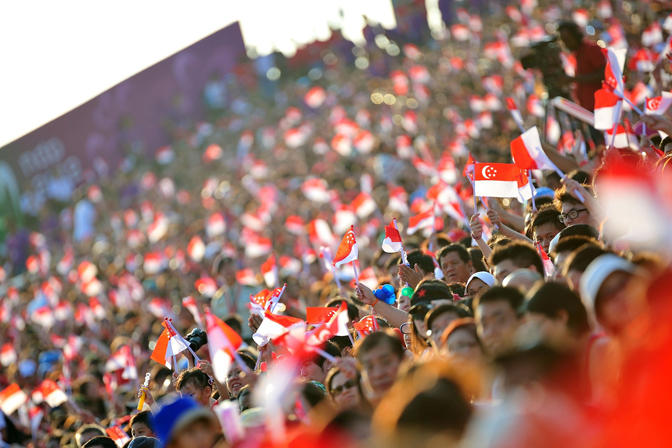 <p>National Day Celebrations In Singapore</p>