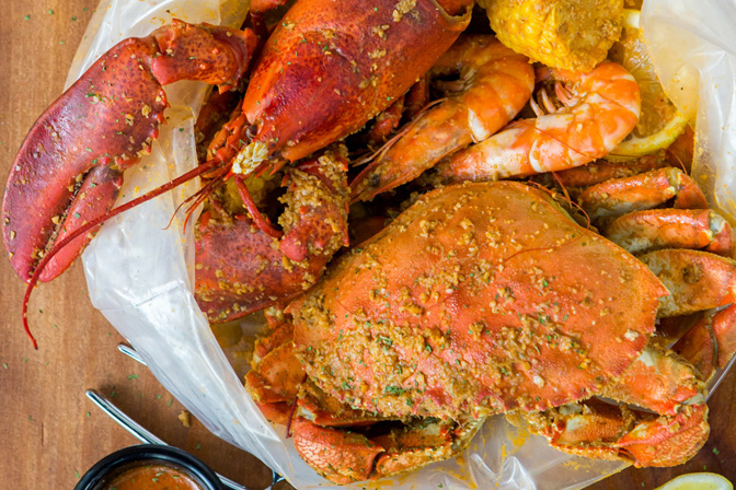 <p>Gather your friends and head to The Boiler Louisiana Seafood & Beer<br /> </p>