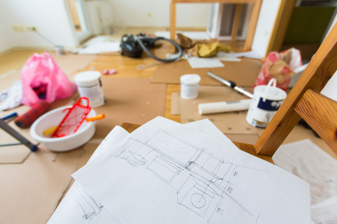 <p>Don't just let him get away with an unfinished or shoddy job!</p>