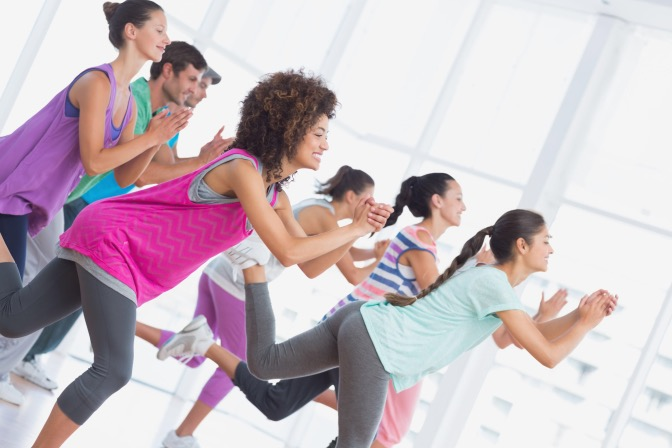 <p>Find the perfect fitness class!</p>