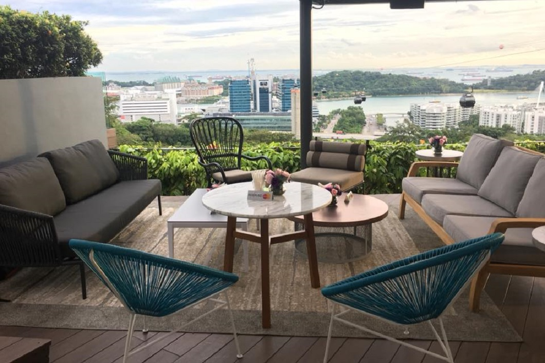 Dusk Restaurant and Bar, One Faber Group, restaurant. Best Alfresco Places in Singapore