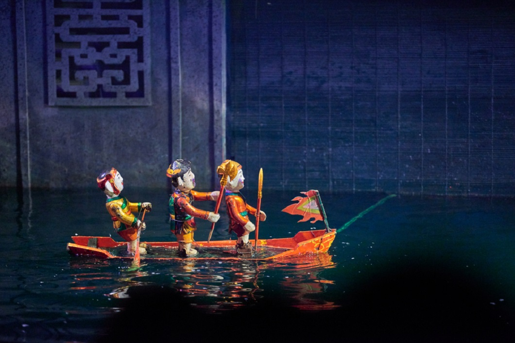 water puppet theatre, theatre, art, culture, Hanoi, Vietnam, Southeast Asia, Asia, travel, vacation, holiday, trips