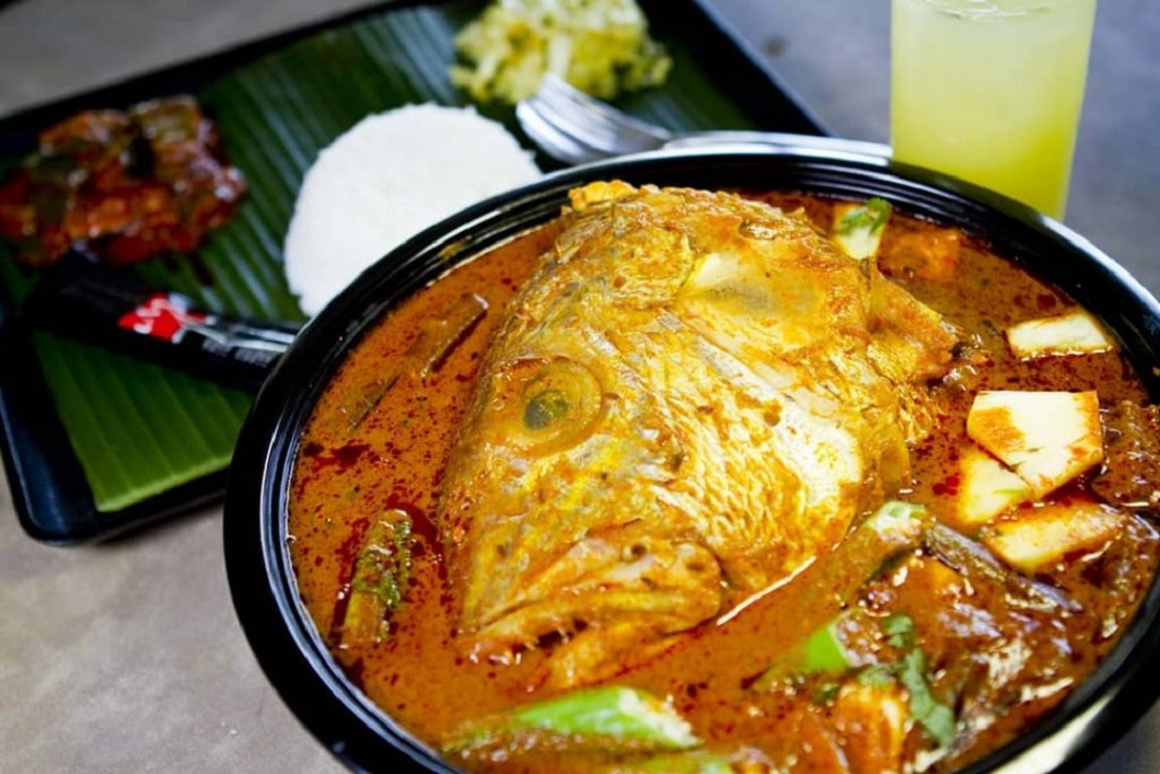 fish head curry, Muthu's Curry, heritage restaurants, singapore, dining, restaurants, food