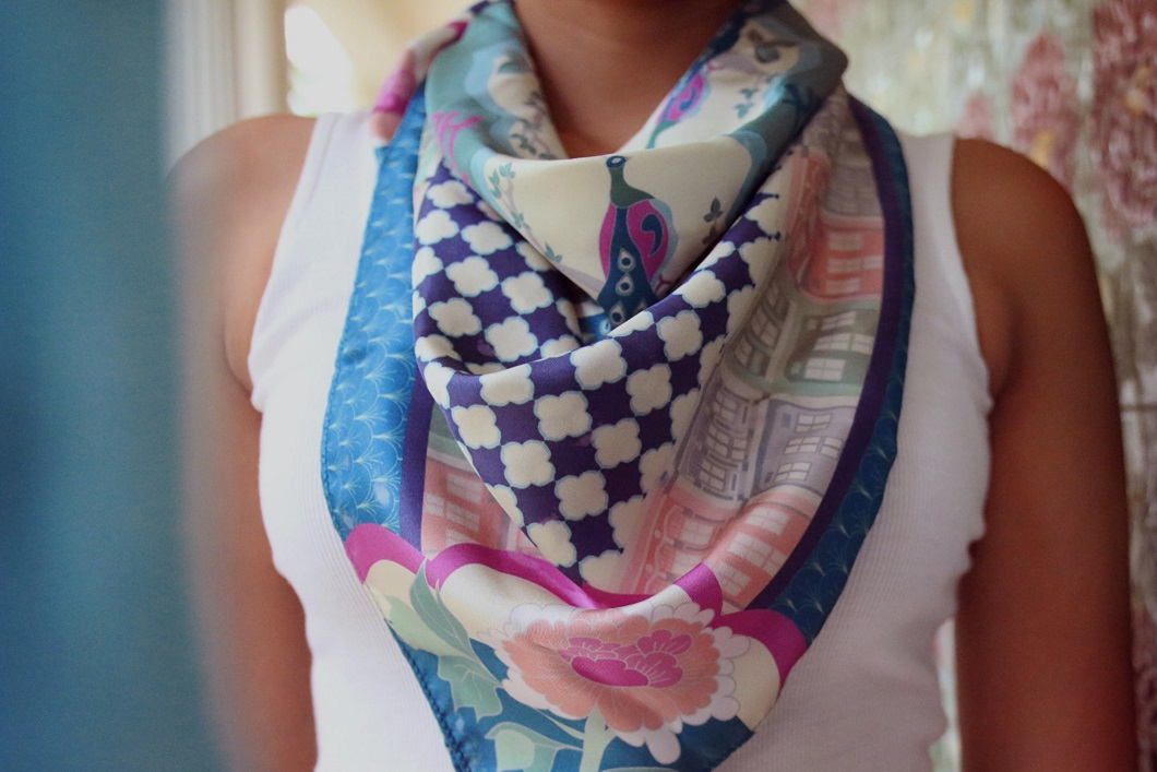 Binary Style, scarf, singapore, gifts, present, shopping, souvenir
