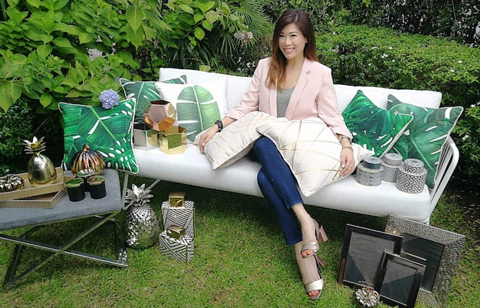 Samantha Yik, Founder and Owner of interior styling company ARELI Designs