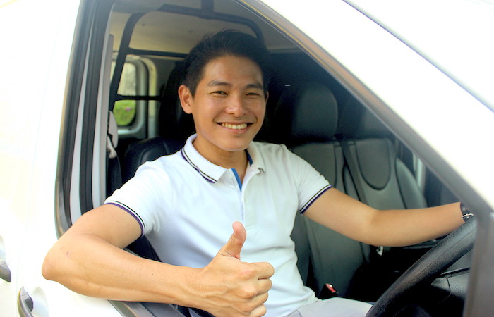 James Neo, Founder of GetVan passenger transport and delivery pros