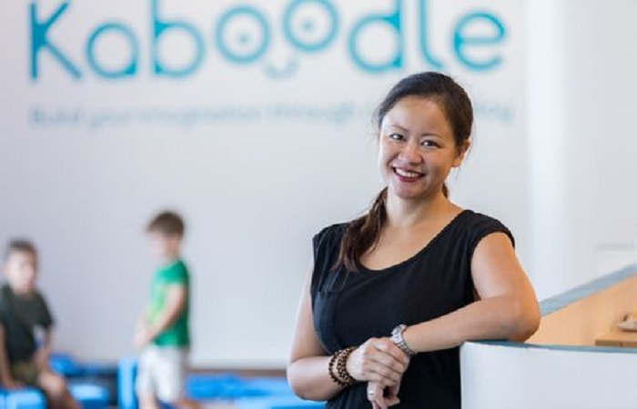 Tan Mui Jin, Founder and Director of Kaboodle, Singapore's first creative indoor playground