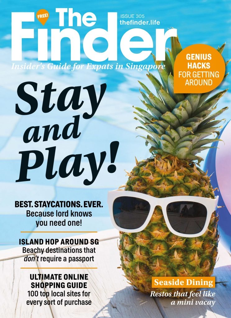 the finder issue 305 stay and play