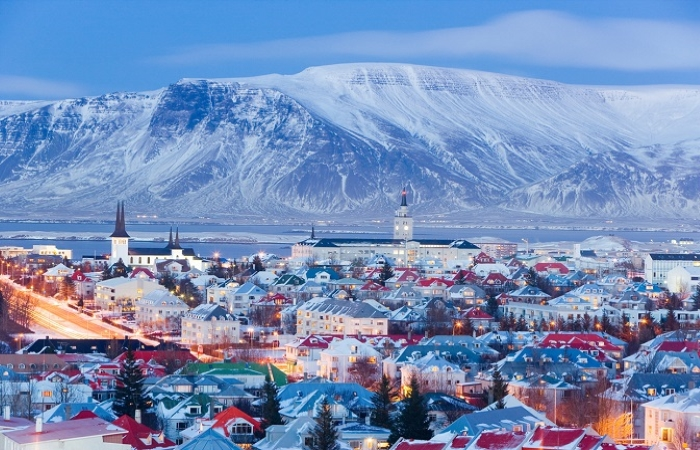Reykjavik iceland city best country cities to raise a family