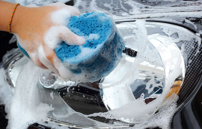 how to save water car wash