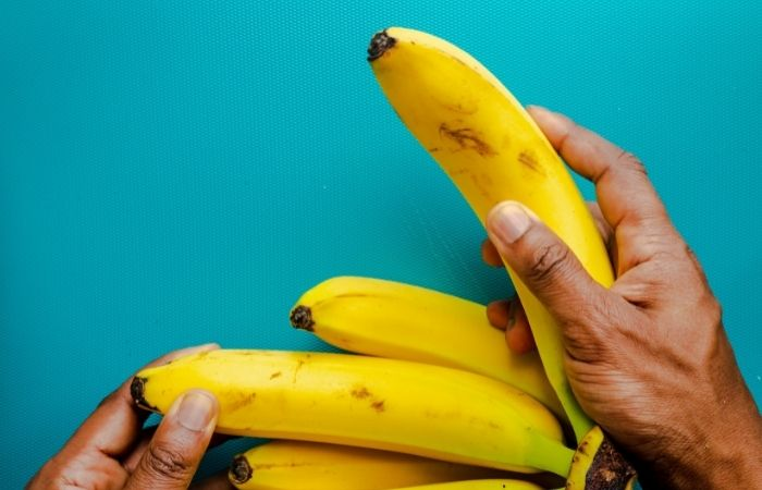 natural house cleaning tips - banana peels clean silver
