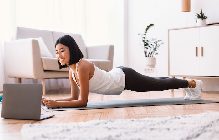 how to save money in singapore? workout at home like this girl