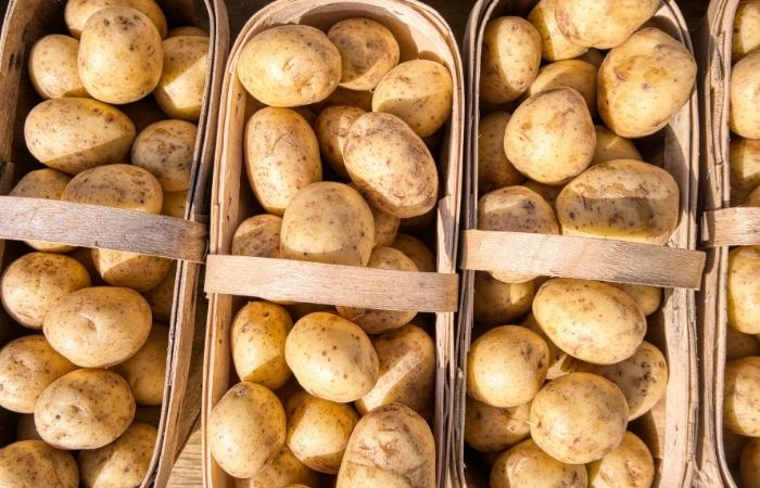 natural house cleaning tips - raw potatoes clean appliances