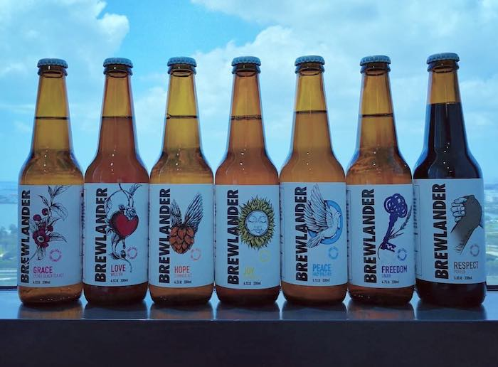Brewlander & Co craft beers from Singapore