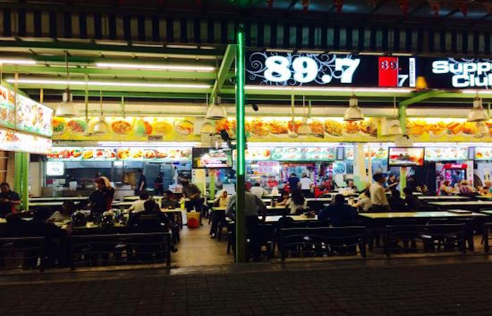 Changi Village 89.7 Supper Club in SIngapore is famous for prata