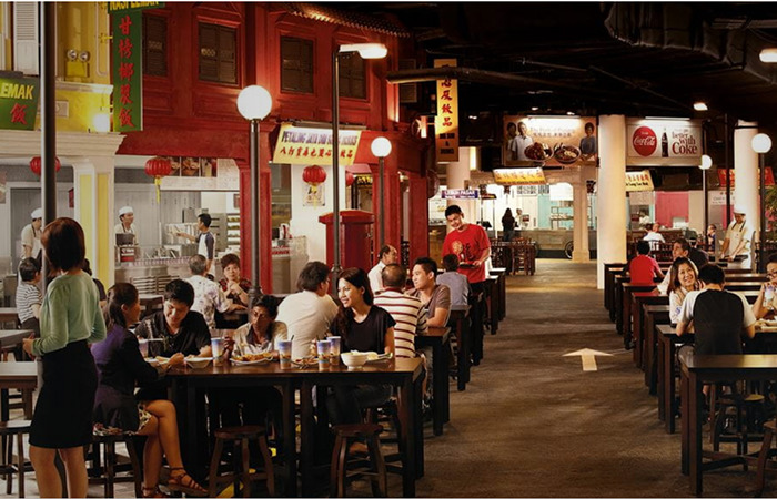 Malaysian Food Street food court lets you try some of the best Malaysian food in Singapore
