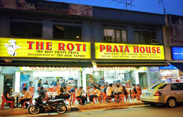 The Roti Prata House on Upper Thomson Road in Singapore has been dishing out excellent prata for generations