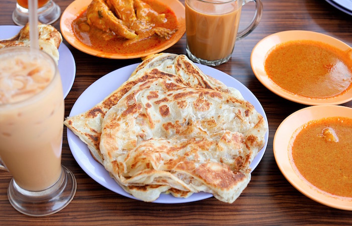 Sin Ming Prata in Singapore make their pastry dough fresh every day