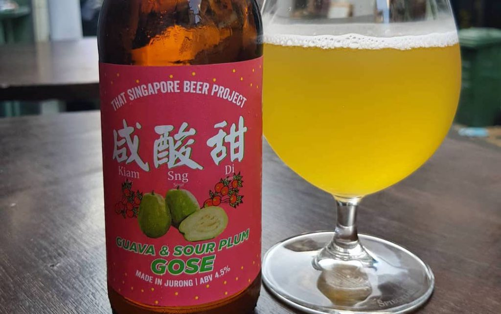 Celebrate International Beer Day with  a Guava and Soup plum craft beer from That Singapore Beer Project