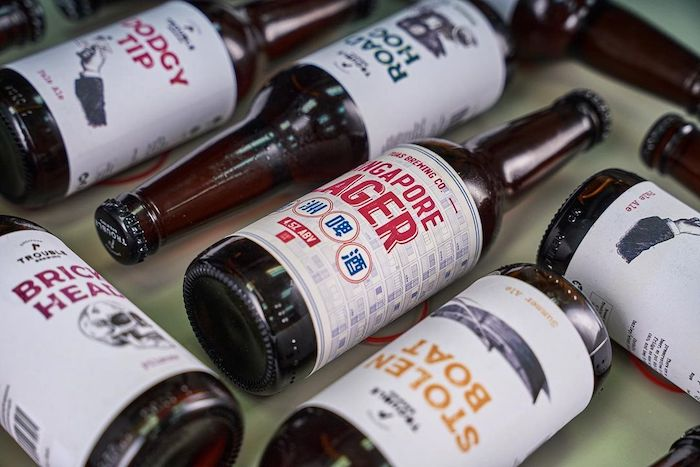 Trouble Brewing craft beer from SIngapore is ideal to celebrate International Beer Day
