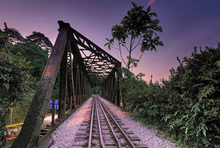 Upper Bukit Timah Railway Bridge nature trail. It's one of the Things to Do at Hillview, in SIngapore
