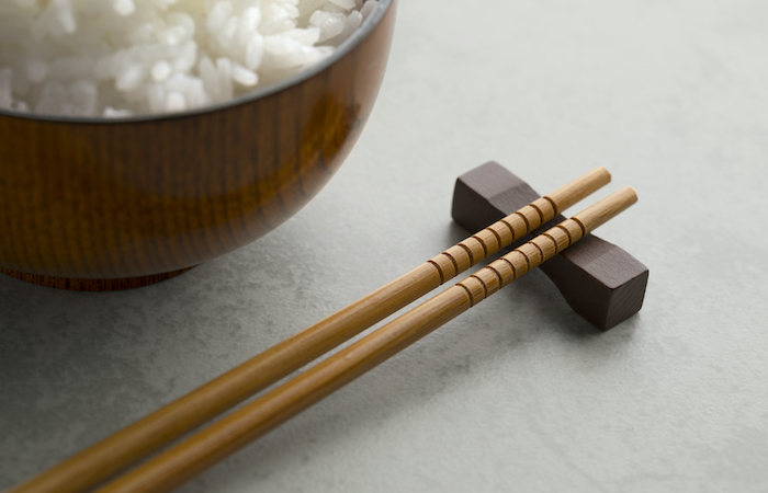hungry ghost festival, rice and chopsticks