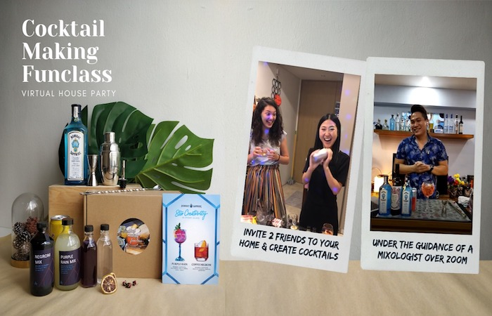 What's On this weekend in Singapore? Learn how to make cocktails at home  with Hazel's Guestlist