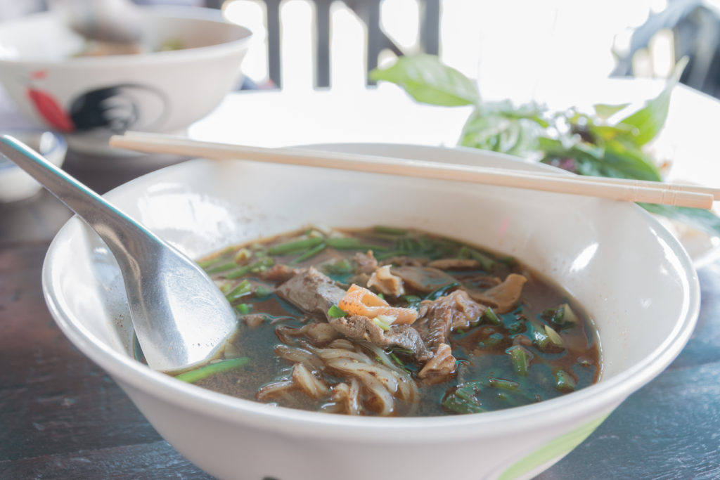 The Original Boat Noodle is a shop specialising in boat noodles in Singapore.