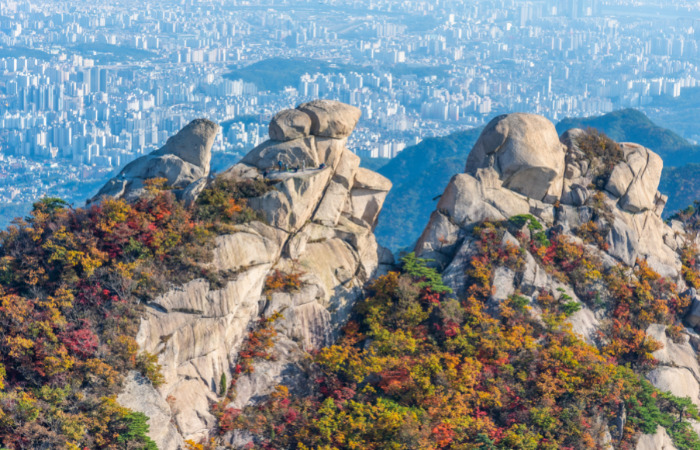 Bukhansan national park seoul south korea best mountains to climb in the world