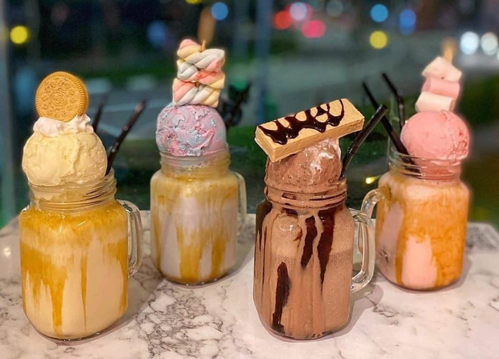 milkshakes in singapore - citrus by the pool  cafe