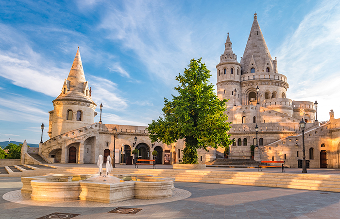 romantic cities in Europe -Budapest in Hungary