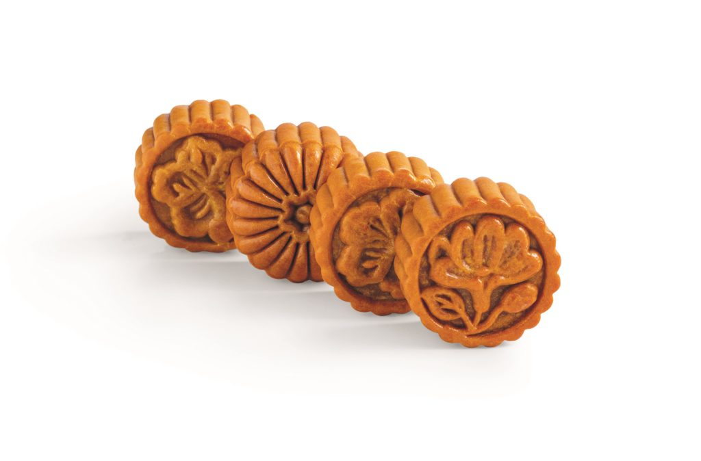 Mooncakes from Marina Bay Sands.