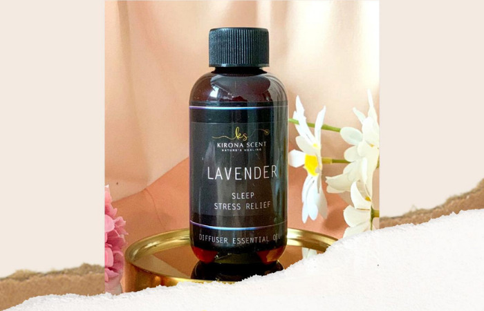 lavender sleep stress relief kirona scent essential oil singapore