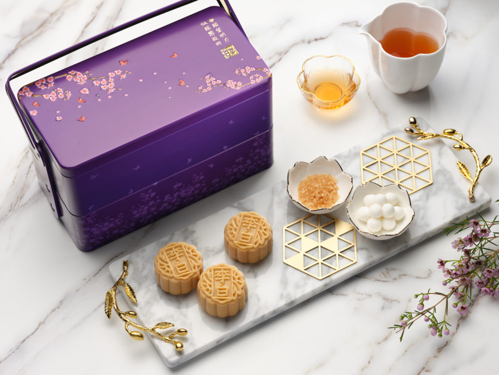 Mooncakes from Sheraton Towers Singapore