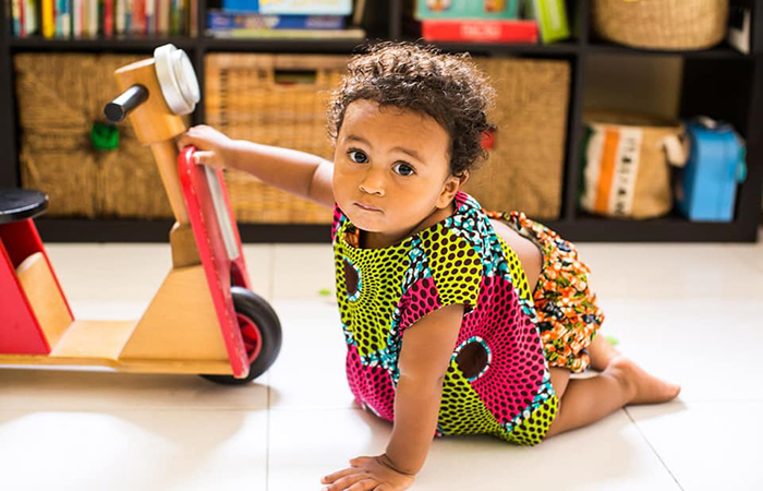 OA Kids sustainable kids clothing is made by OliveAnkara using African wax print fabrics, in Singapore