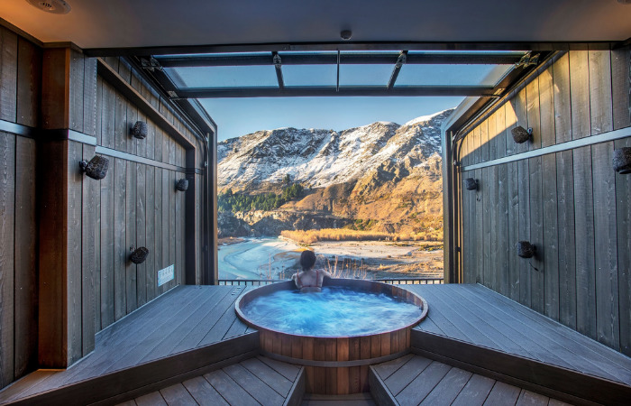 must visit places new zealand onsen hot pools queenstown