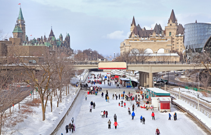 Ottawa, Canada best country cities to raise a family