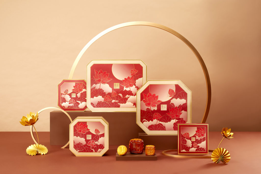 Mooncakes from The Peninsula Singapore.