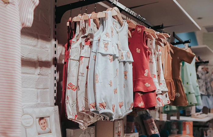 Sunstainable kids clothes in Singapore include independent lable Sea Apple, with these cute little cotton onsies