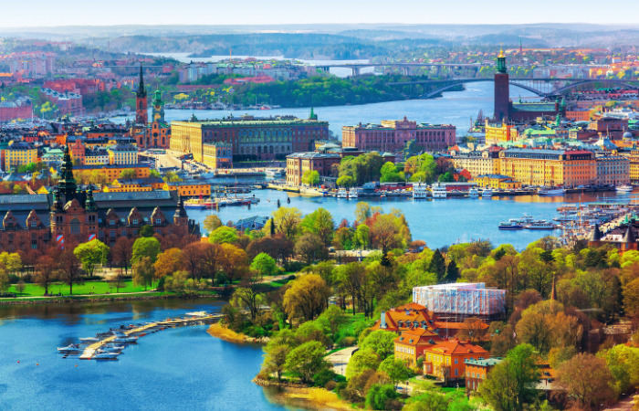 Stockholm, Sweden best country cities to raise a family