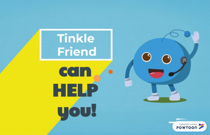 tinkle friend for kids