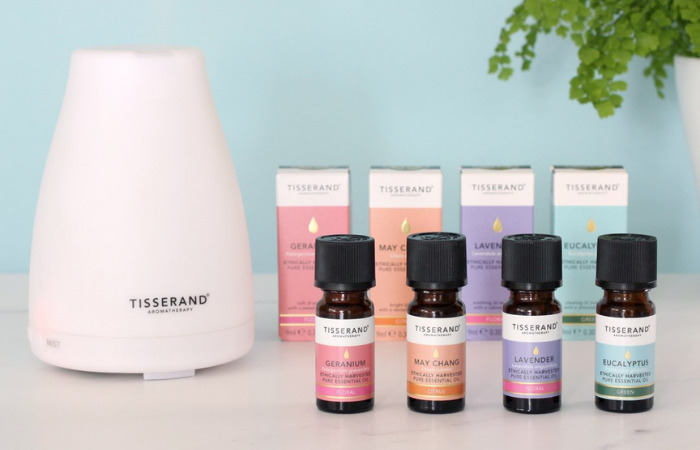 geranium, may chang, lavender and eucalyptus tisserand where to buy essential oils in singapore