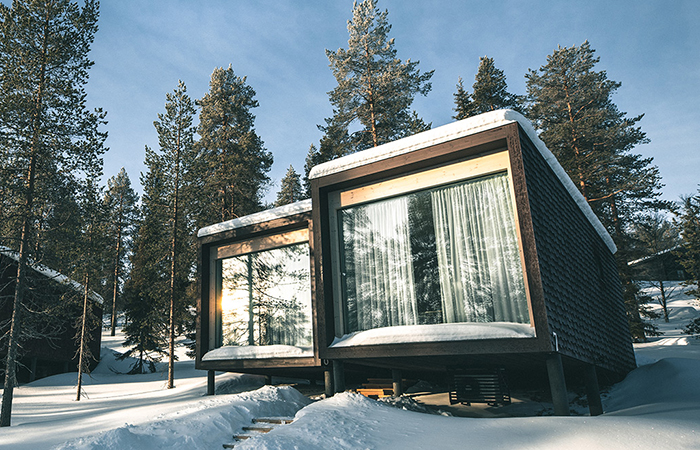 romantic destinations for a couples getaway - Rovaniemi in Finland