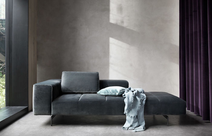 sofas in singapore, the open ended sofa in leather by Bo Concept