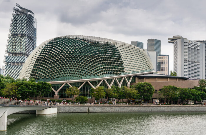 Singapore Travel Guide Esplanade Theatres By The Bay