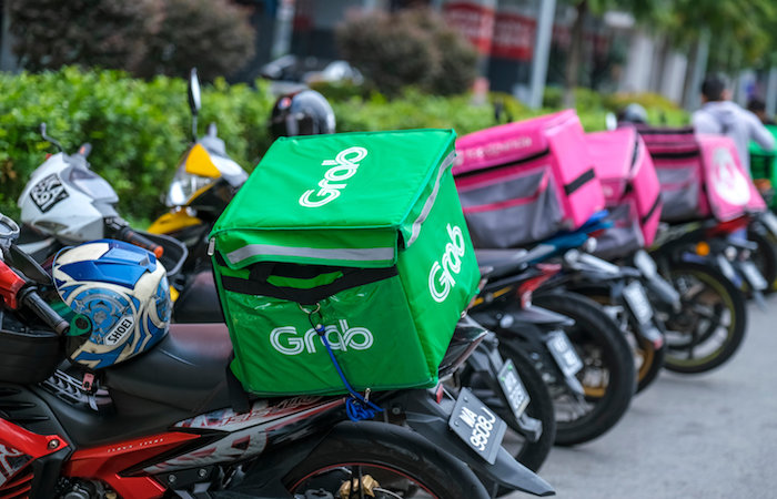grab food delivery motorcycle home food delivery singapore