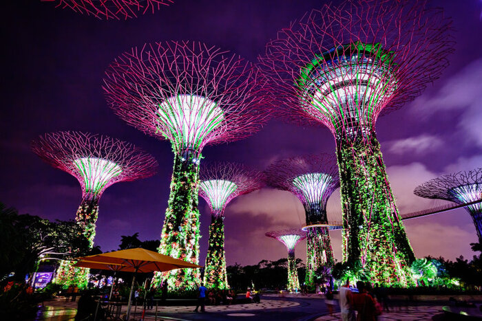 Gardens by the bay - singapore travel guide