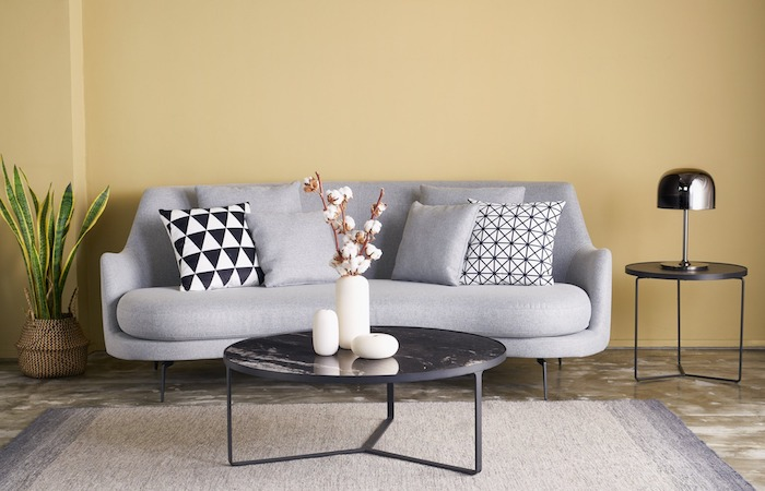 sofas in singapore, the Kelly sofa by  singapore furniture company Greyhammer